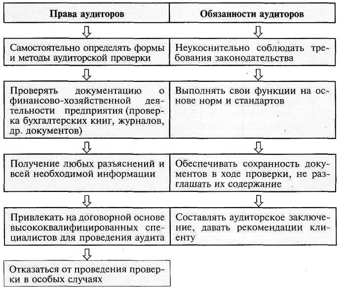Основы аудиторской деятельности Аудит Налетова И А  Права и обязанности аудитора