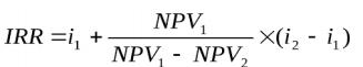 Метод внутренней нормы рентабельности (доходности) IRR